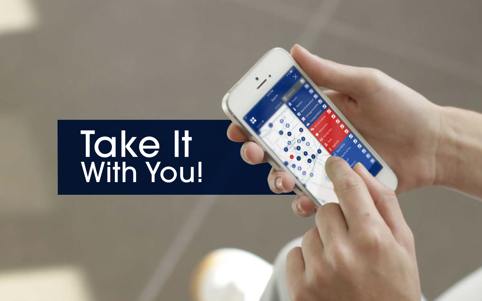 Take Our App with You!